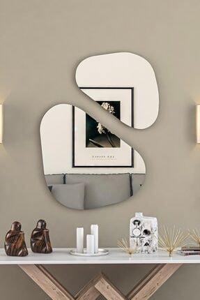 bluecape Two Balance Antre Hol Koridor Dresuar Konsol Duvar Salon Banyo Wc Ofis Çocuk Yatak Odası Set Ayna