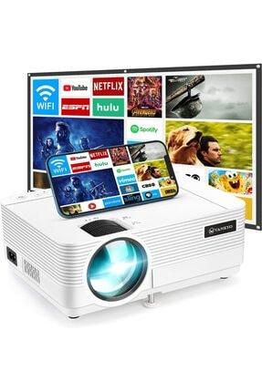 Vankyo Leisure 470 Wifi + Hoparlör Mini Projeksiyon 3500 Ansı, 1080p, 2000:1, 50,000 Saat