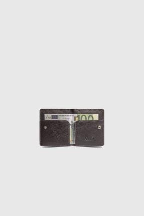 GUARD Taba / Kahverengi Patlı Tasarım Deri Kartlık
