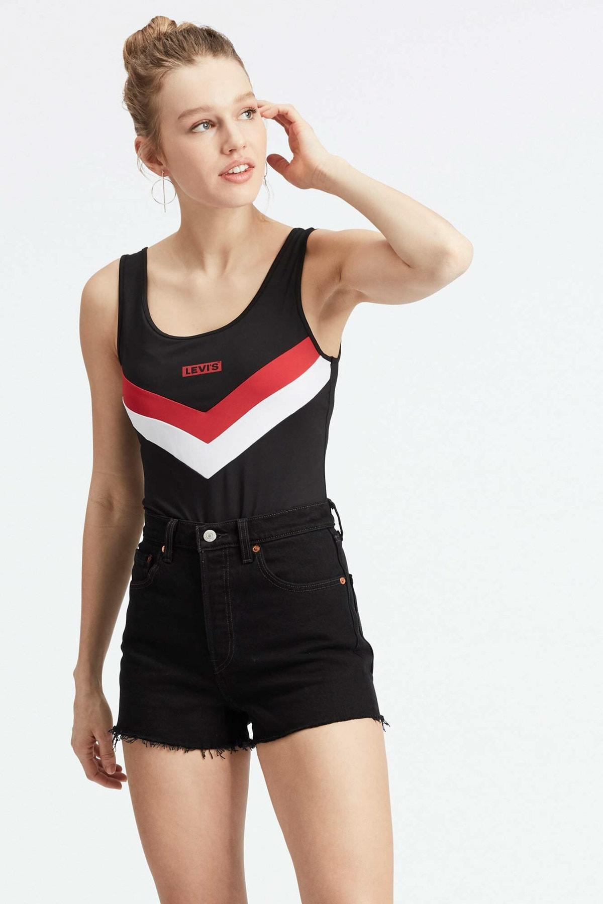 Levi's Kadın Florence Bodysuit T-shirt Zıbın 80812-0000 1
