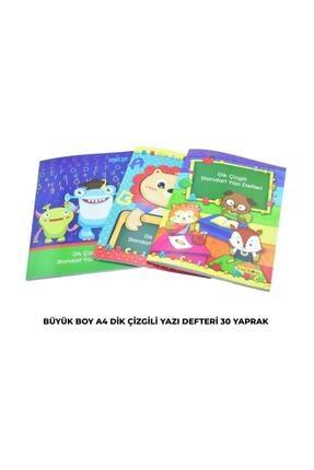 3 Çınar Çınar A4 Standart Dik Çizgili Yazı Defteri 30 Yp. 1 Adet