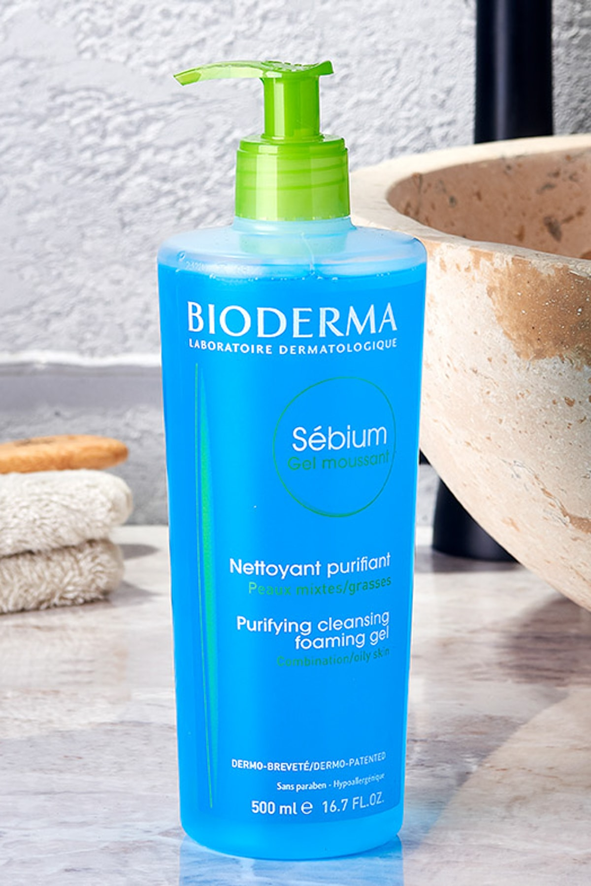 Bioderma Sébium Foaming Gel 500 ml 1