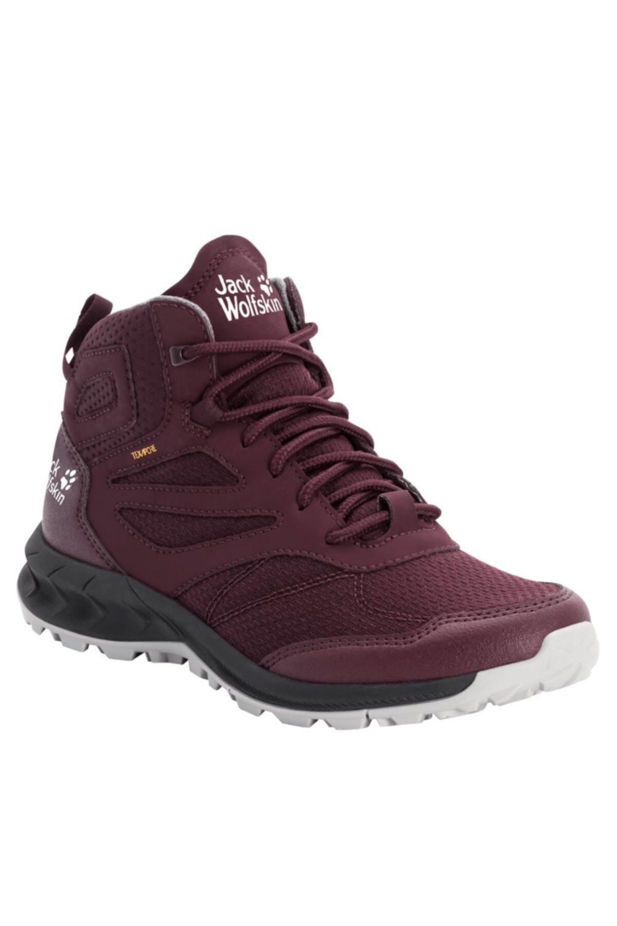 Jack Wolfskin Woodland Texapore Mid W Kadın Outdoor Ayakkabı 1