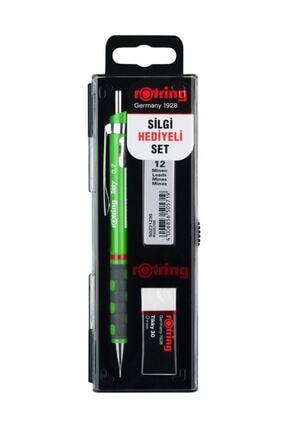 Rotring Yeşil Tikky Uçlu Kalem Okul Seti 0.7