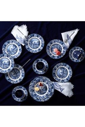 Karaca Blue Odyssey 19 Parça Pasta Takımı