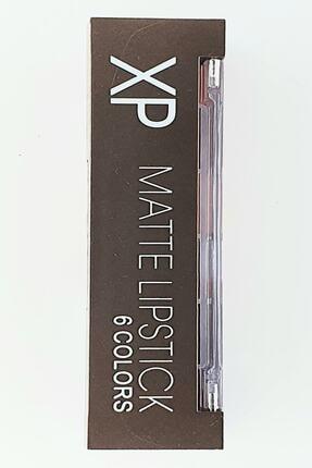 XP Matte Lıpstıck 6 Colors 6 Lı Mat Ruj