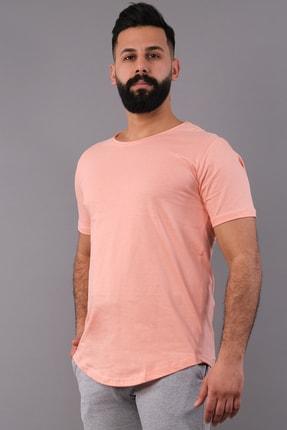 NewCabin Erkek Pudra Oval Kesimli Oversize Tişört