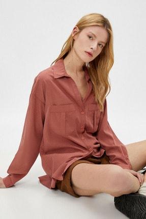 Koton Kadın Kiremit Gömlek