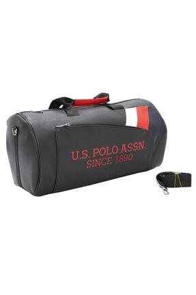 U.S. Polo Assn. Plduf 9501 Us Polo Assn Suni Deri Seyahat Çantası / Spor Çanta