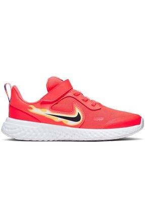 Nike Revolution 5 Fire Kız Çocuk Spor Ayakkabı Cw1445-600