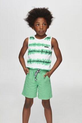 Nebbati Erkek Çocuk Yeşil Şort 20ss0nb3111