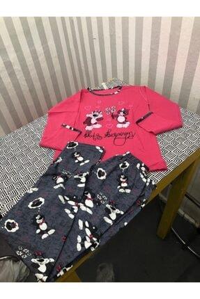 Wonder Kıds Wonder Kinds Uzun Kollu Yazı Desenli Çocuk Pijama Takımı