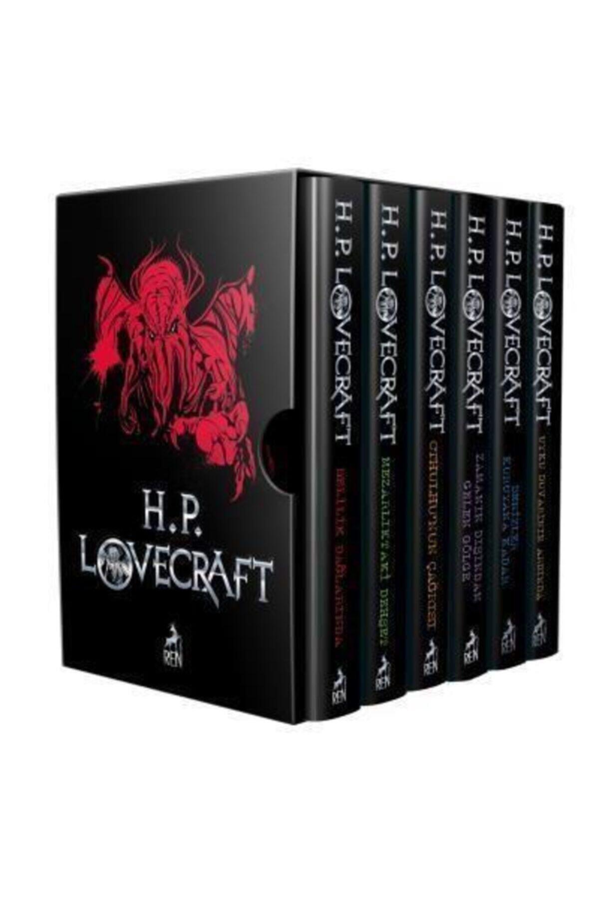 Kömen Yayınları H.p. Lovecraft Seti 6 Kitap Takım Kutulu Howard Phillips Lovecraft 1