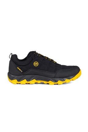 Greyder Erkek Sıyah   Sarı Outdoor Ayakkabı 0K1GA00171