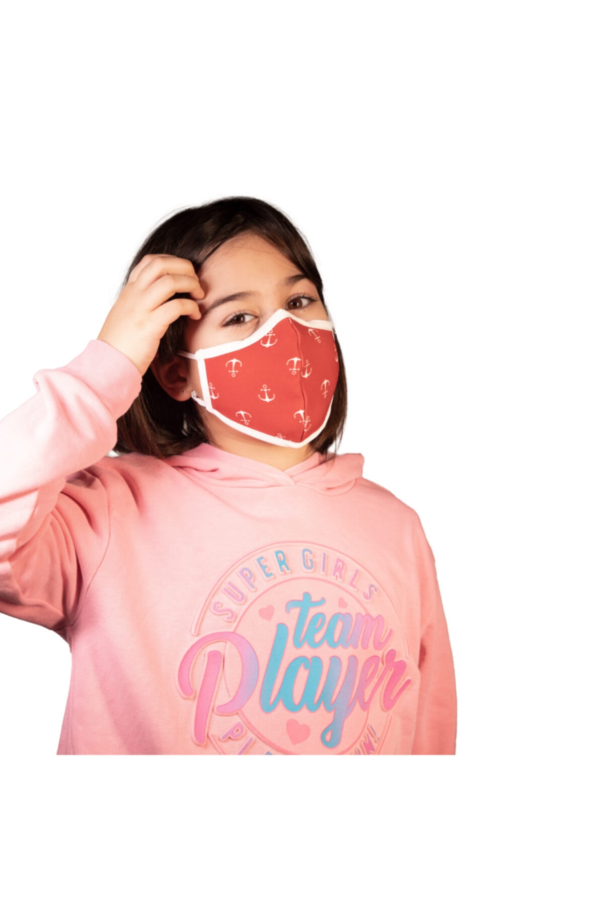 NOCLET + Noclet+ Premium Maksimum Koruma Gümüş Iyonlu Yıkanabilir Maske Çocuk Anchor 1