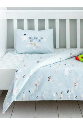 LCW HOME Unisex Mavi Bebek Nevresim Takımı