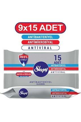Sleepy Antibakteriyel Cep Mendili 9x15