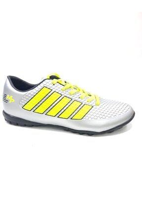 MP 7332 Erkek Halısaha Futbol Ayakkabısı Silver