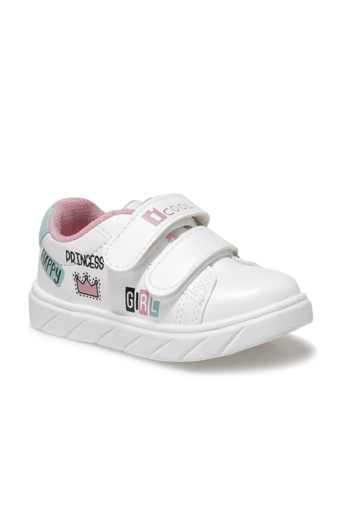 I COOL PRINCESS Beyaz Kız Çocuk Sneaker Ayakkabı 100664317 1
