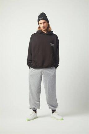 Trendiz Cactus Oversıze Sweatshirt Siyah Tr30013