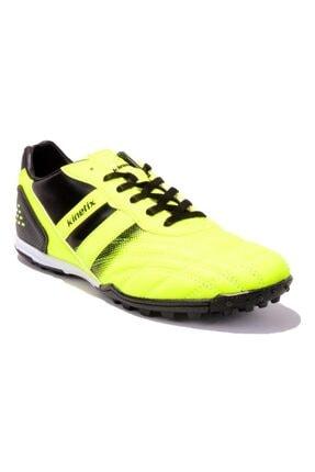 Kinetix VOLKY TURF Neon Yeşil Siyah Erkek Halı Saha Ayakkabısı 100287347