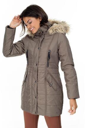 Vero Moda Kadın Kahverengi Mont 10215237