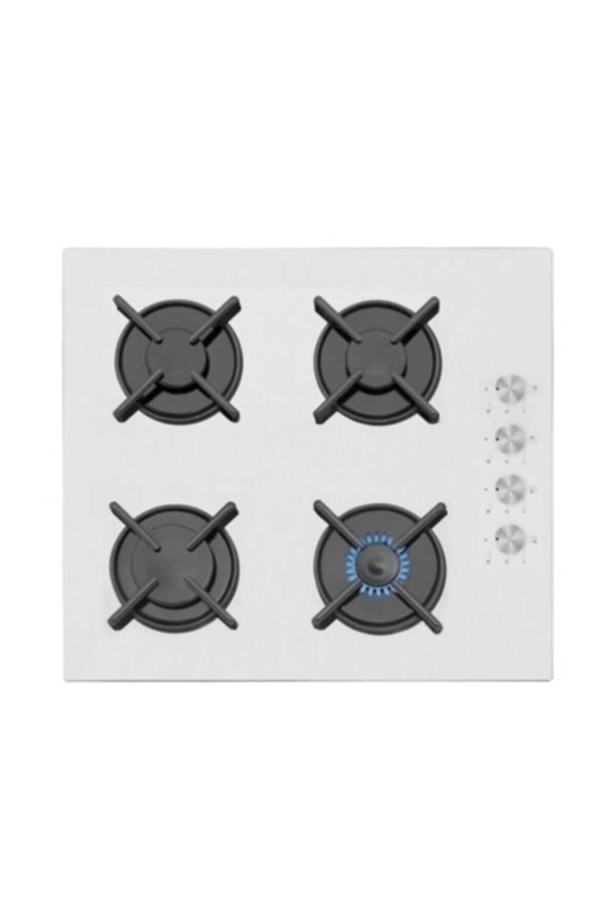 Simfer 3507 Beyaz Cam Ankastre Ocak 1