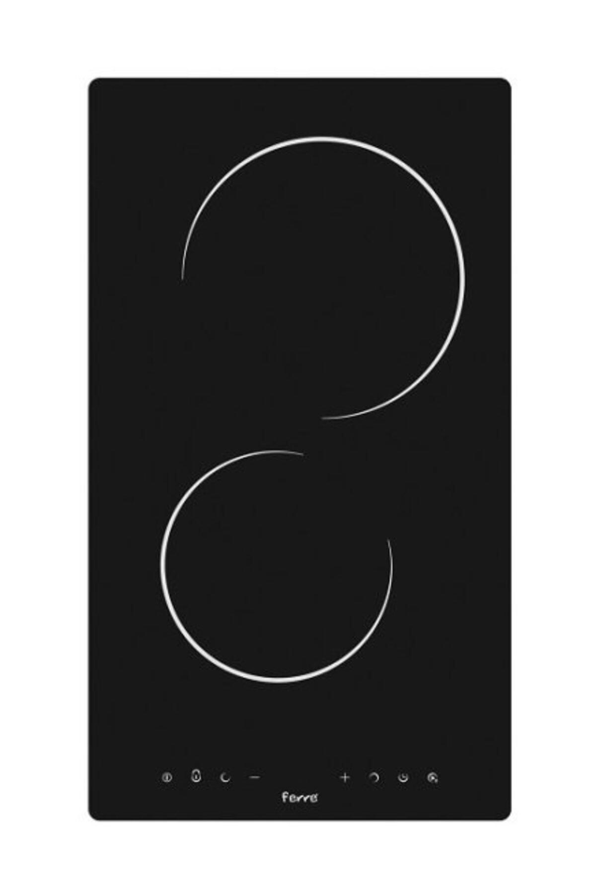 Ferre Ms 131 Vitroseramik Siyah Elektrikli Ocak (30 Cm) 1