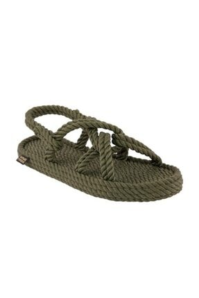Nomadic Republic Bora Bora Erkek Halat Sandalet - Haki