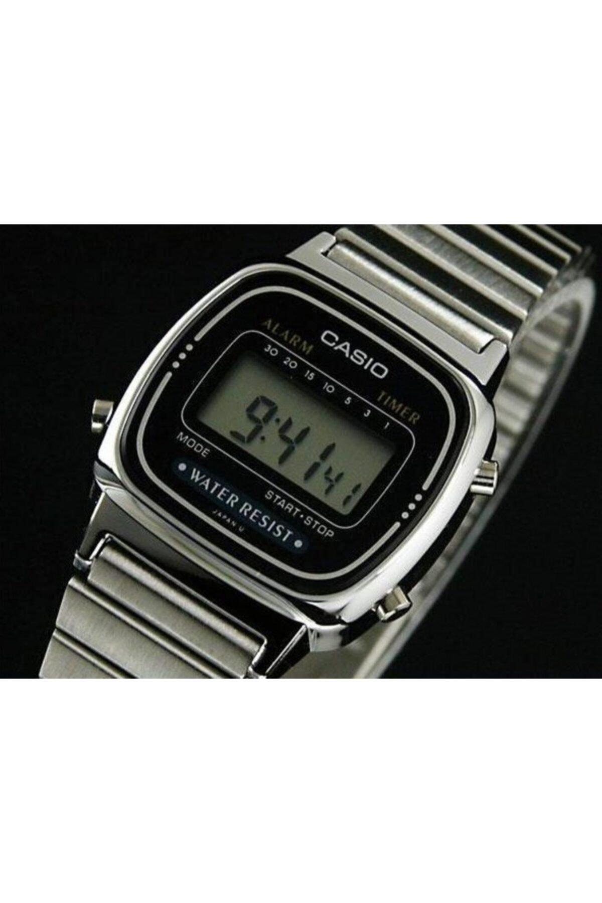 Casio La670wa-1df Ersa Garantili Retro Metalik 2