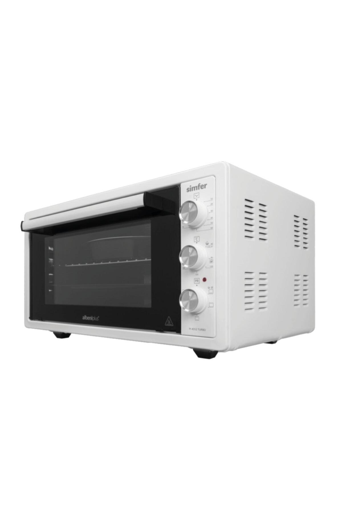 Simfer 4552 Beyaz 45 Litre Turbo Midi Fırın 1