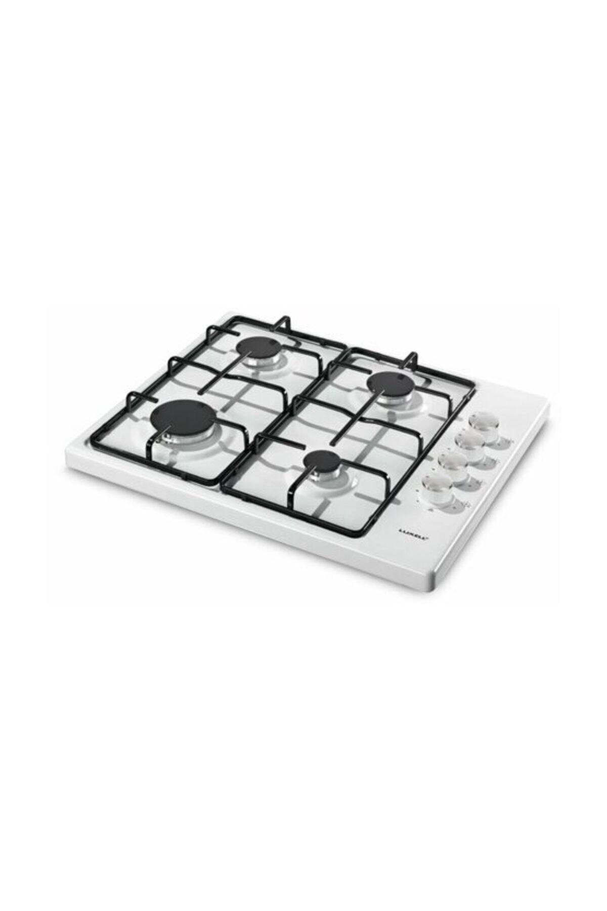 Luxell Gazlı Set Üstü Beyaz Ocak Lx-420 F Lpg 1