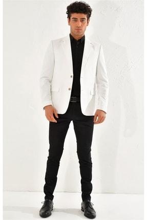 Efor C 560 Slim Fit Beyaz Spor Ceket