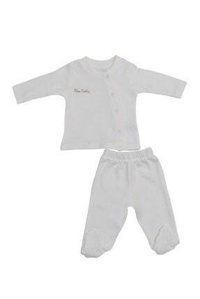 Pierre Cardin Baby Pierre Cardin Bebek Takımı Ekru
