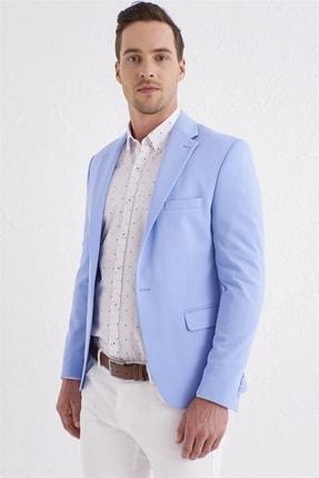 Efor C 560 Slim Fit Mavi Spor Ceket