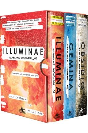 Pegasus Yayınları Illuminae Dosyaları Serisi Takım Set 3 Kitap İlluminae + Gemina + Obsidio
