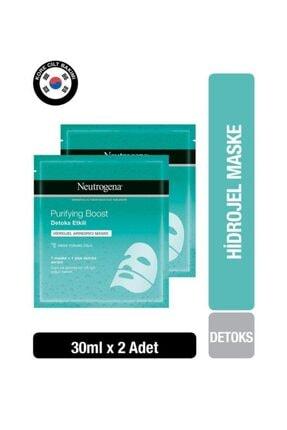 Neutrogena Purifying Boost Hidrojel Arındırıcı Maske 30 Gr x 2 Adet