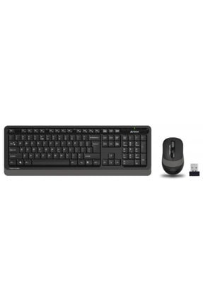 A4 Tech Fg1010 Gri Fstyler Türkçe Q 2,4ghz Kablosuz Klavye Mouse Set