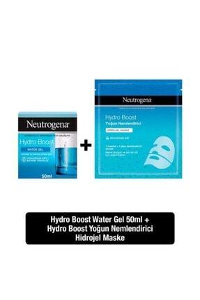 Neutrogena Hydro Boost Water Gel 50 ml + Yoğun Nemlendirici Hidrojel Maske