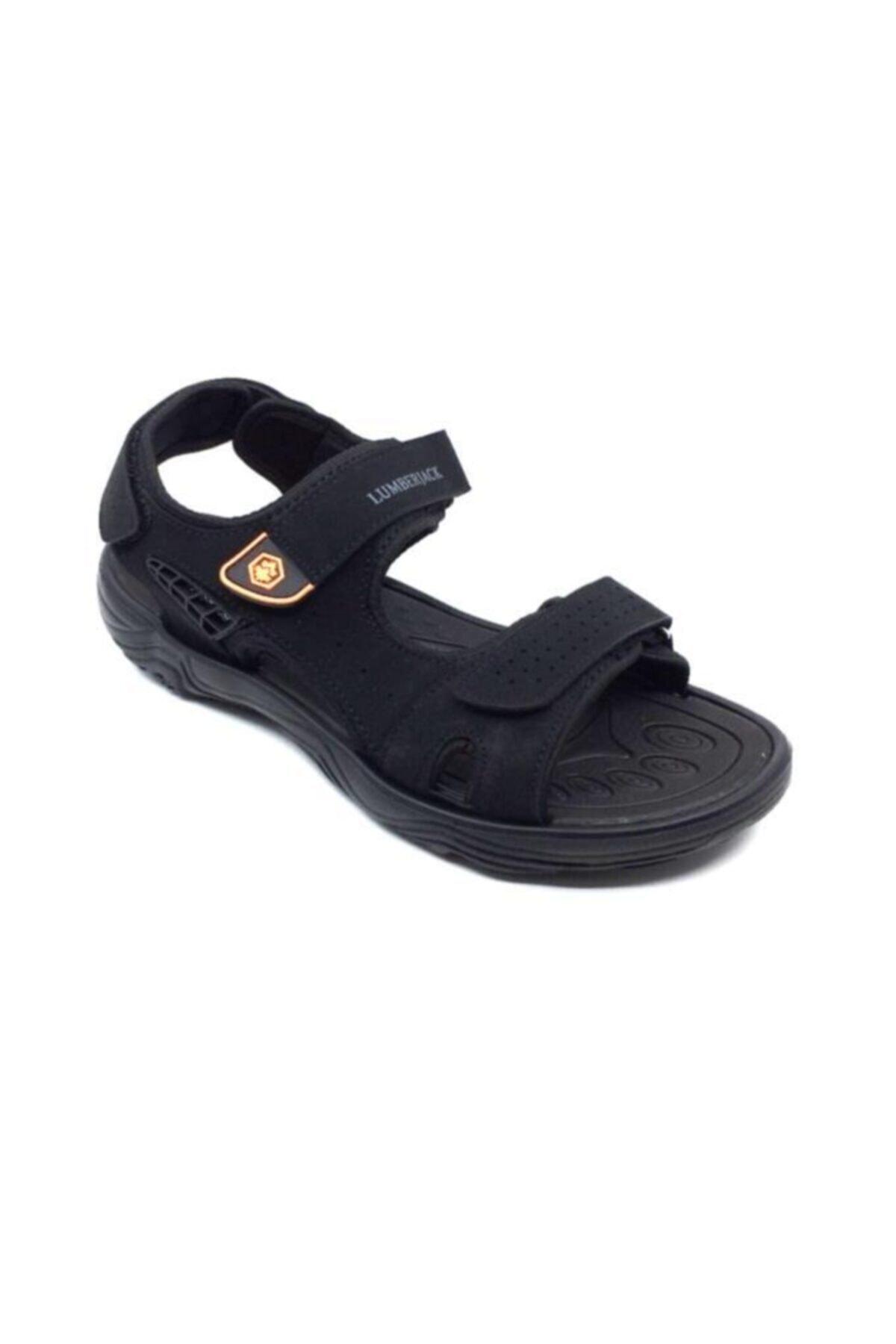 lumberjack KASS Siyah Erkek Sandalet 100501715 2