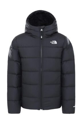 THE NORTH FACE Moondoggy Hoodie Kapüşonlu Çocuk Mont Siyah