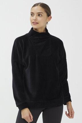 Penti Siyah Dance Velvet Sweatshirt