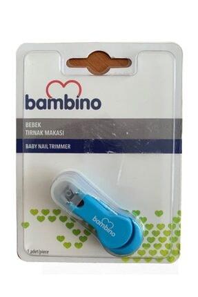 Bambino Newbebek Mavi Bebek Tırnak Makası