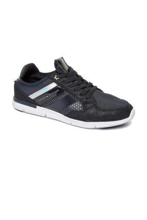Tommy Hilfiger Kadın Lacivert Sneaker -Metallıc Lıght Weıght Sneaker Mıd