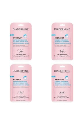 Diadermine Hydralıst Express Hydratıon 4 Adet
