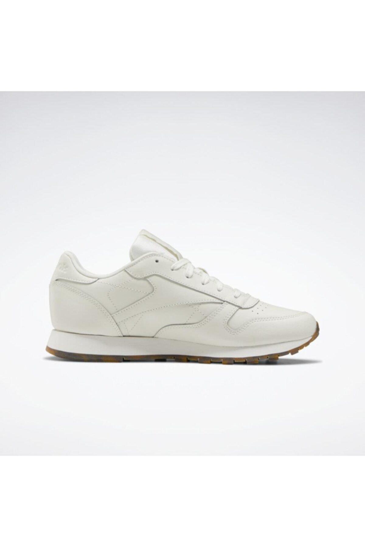 Reebok Eh1664 Classic Leather Kadın Günlük Spor Ayakkabı Beyaz 1