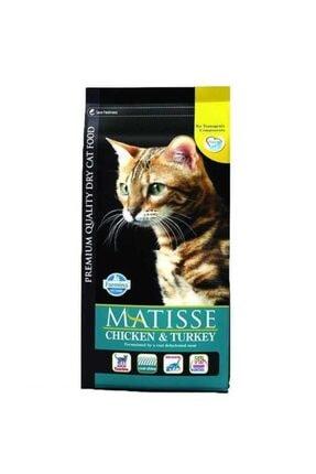 Matisse Chicken & Turkey Hindili Sebzeli Yetişkin Kedi Maması 10 kg