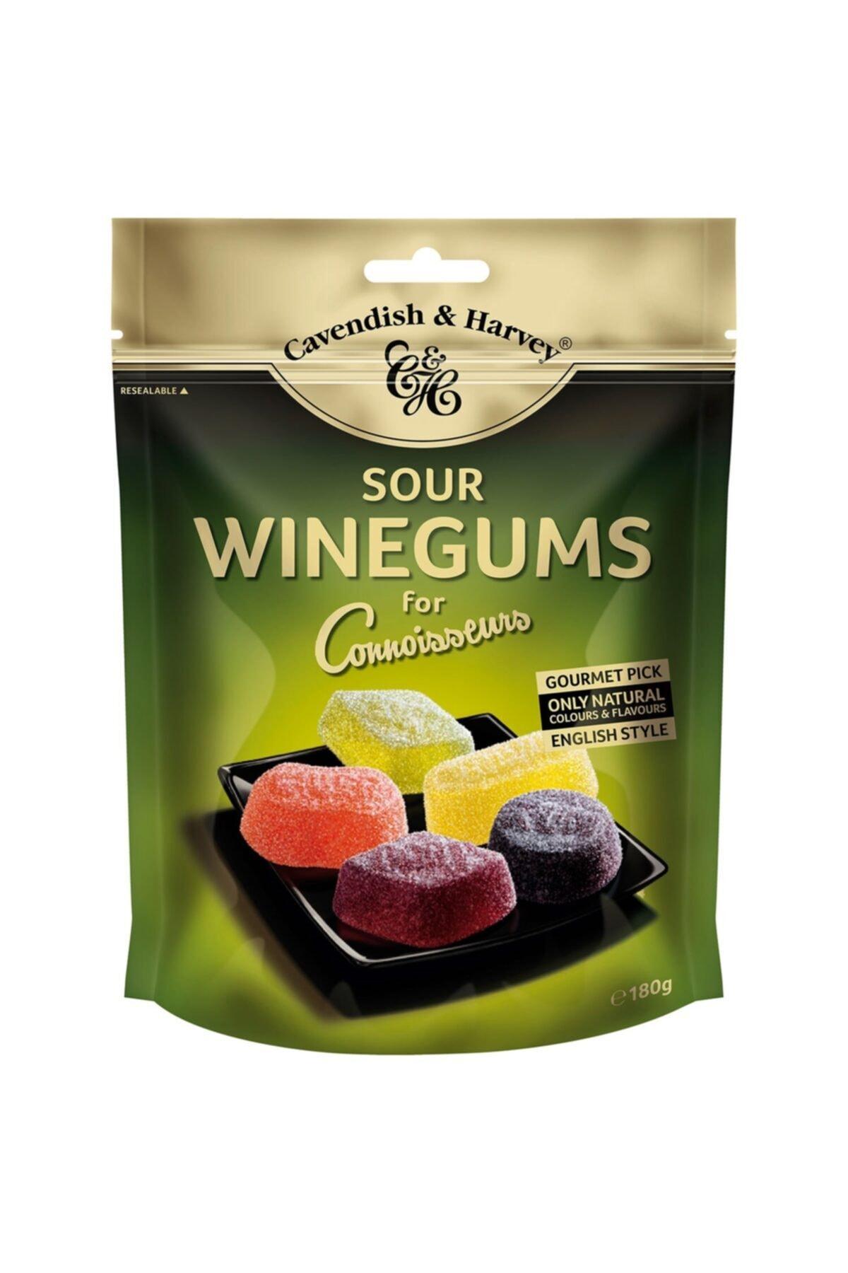 Cavendish & Harvey Winegums For Connoisseurs Sour 180g 1