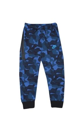 Nike Erkek Çocuk Lacivert Desenli Eşofman Altı 86b446-u89