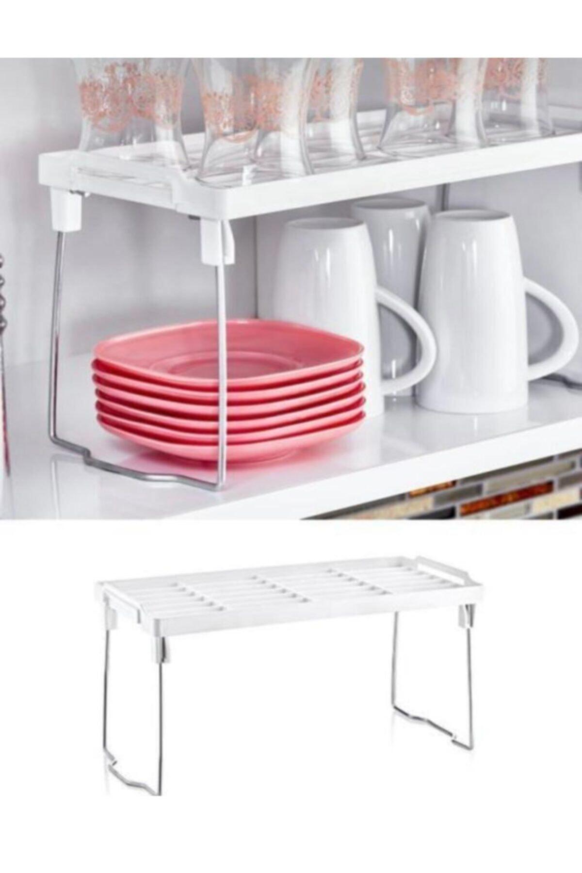 Favori Home 2 Adet Mutfak Masası Tezgah Raf Düzenleyici 1